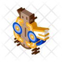 Tree Felling Machine Icon