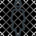 Female User Peson Icon