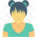 Female Student Girl Icon