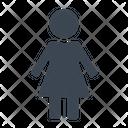 Female Person Woman Icon