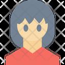 Anime Female Woman Icon