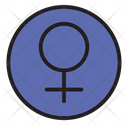 Female Girl Lady Icon