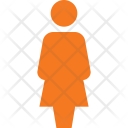Female Peson Symbol Icon