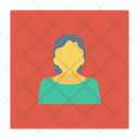 Female Avatar Lady Icon
