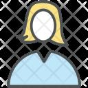 Female User Girl Icon