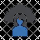 Female Agent Icon