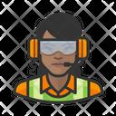 Female Airport Crew Airport Crew Icon