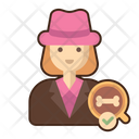 Female Archaeologist Archeology Archaeology Icon