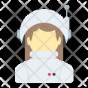 Astronaut Cosmonaut Woman Icon