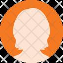 Female Peson Symbol Icon
