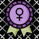 Female Badge Icon