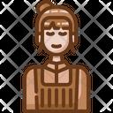 Female Barista Icon