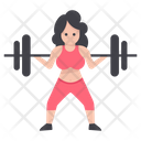 Female Bodybuilder Icon