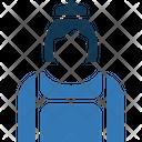 Female Butler Female Maid Icon