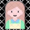 Female Cashier Cashier Woman Icon