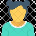 Girl Schoolgirl Daughter Icon