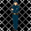 Female Constable Icon