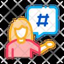 Female Discontent Blogger Icon
