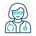 Doctor Female Doctor Physician Icon