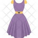 Festive Dress Skirt Icon