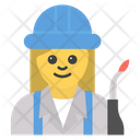 Female Engineer Icon