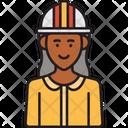 Female Engineer Icon