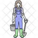 Farmerfemale Icon
