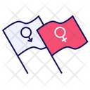 Men Gender Equality Icon