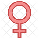 Female Gender Sign Icon