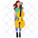 Female Guitarist Girl Guitarist Female Artist Icon