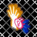 Female Hand Icon