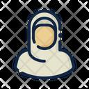 Female hijab Icon