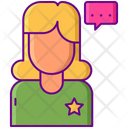 Female Influencer Bloger Female Icon