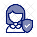 Insurance Protection Guard Icon
