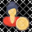 Female Investor Icon