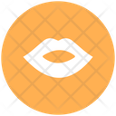 Female Lips Kissing Kissing Gesture Icon