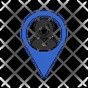 Female Location Icon