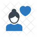 Female Love Date Icon