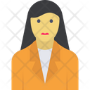 Female Manager Icon