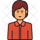 Female Manager Manager Woman Icon