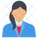 Female Manager Manager Employee Icon