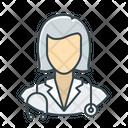 Female Nurse Nurse Woman Icon