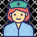 Female Nurse Hospital Lady Nurse Icon