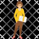Office Employee Worker Icon