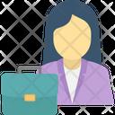 Businesswoman Businesswoman Avatar Female Businessperson Icon