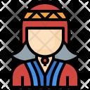 Female Peruvian Icon