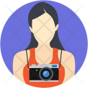 Female Photographer Icon