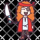 Female Pirate Icon
