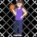 Female Player Icon