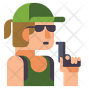 Female Player Player Woman Icon